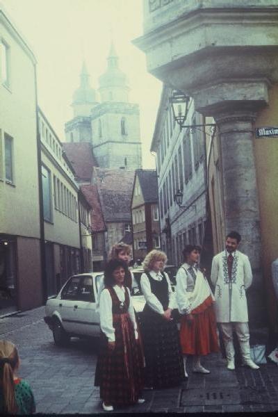 Байрёйт: Браутгассе, 1989