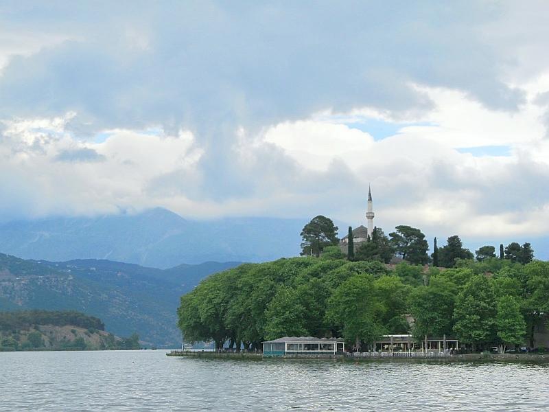 Янинская крепость, вид с севера