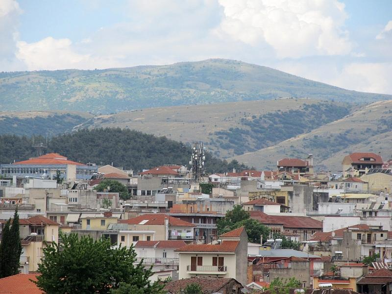 Янина: вид на северные кварталы