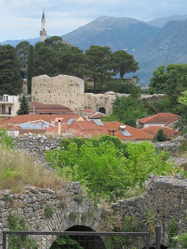 Янинская крепость, вид с юга