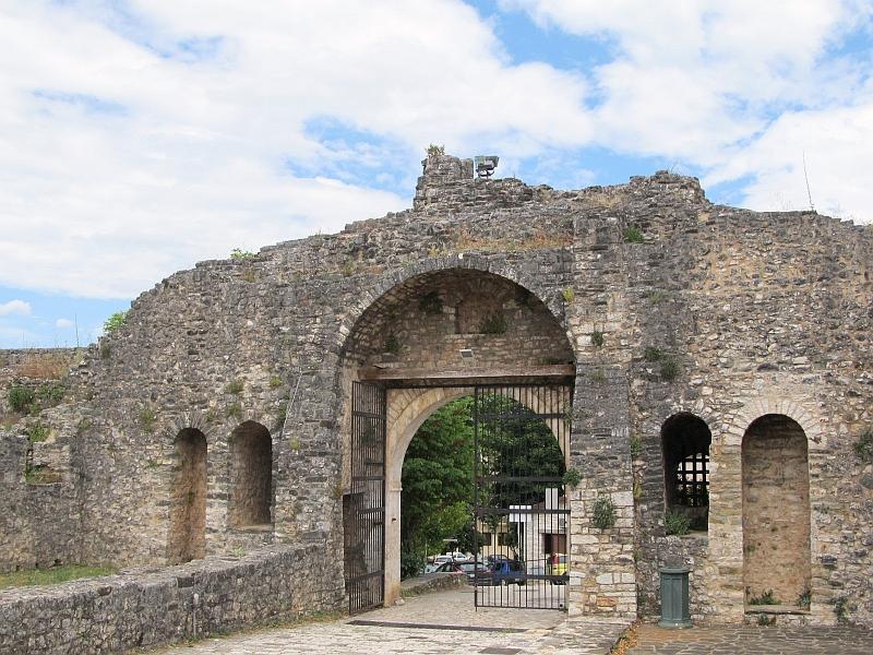 Янина: Порта Идж-Кале (изнутри)