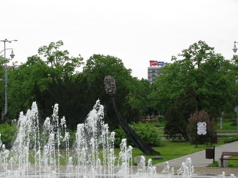 Торунь: фонтан