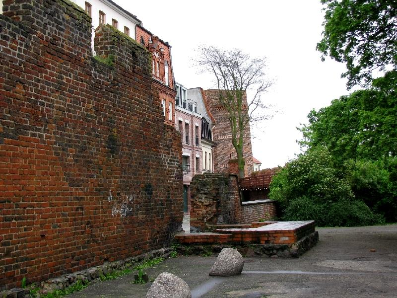 Торунь: фрагмент городской стены