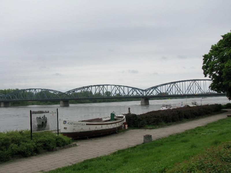 Торунь: Висленский мост