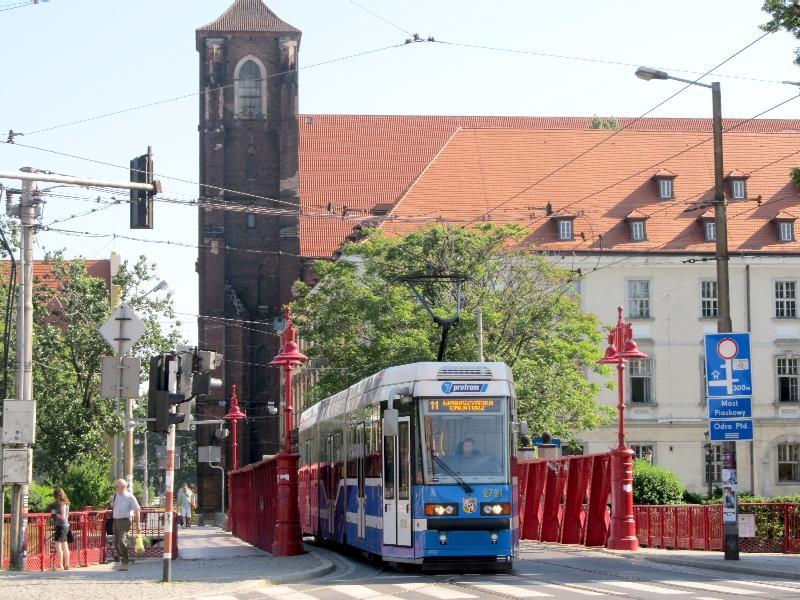 Вроцлав: бывший монастырь августинцев