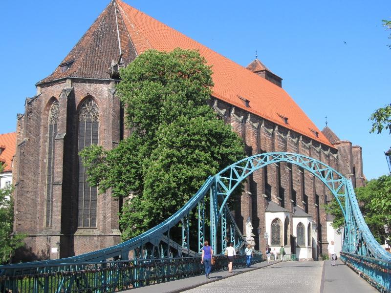Вроцлав: Тумский мост