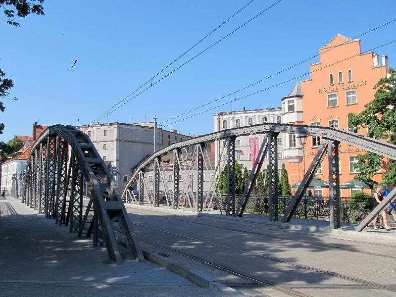 Вроцлав: северный Млынский мост