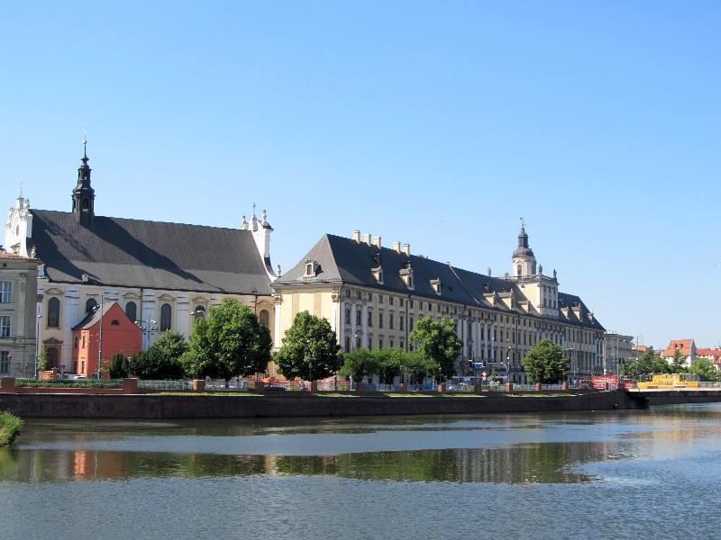Вроцлав: главное здание университета