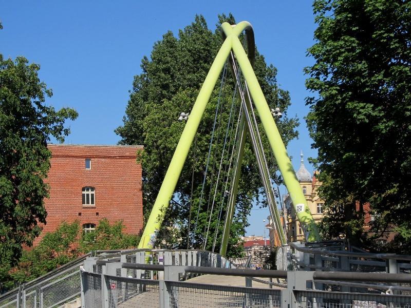 Вроцлав: Солодовый мост