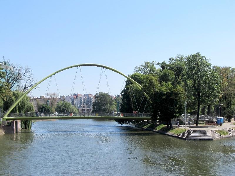 Вроцлав: Жабий мост