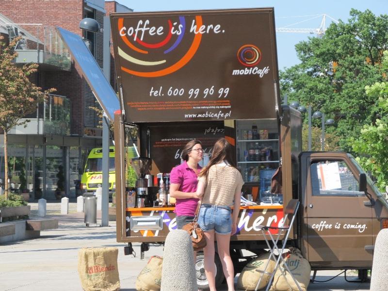 Вроцлав: передвижная кофейня