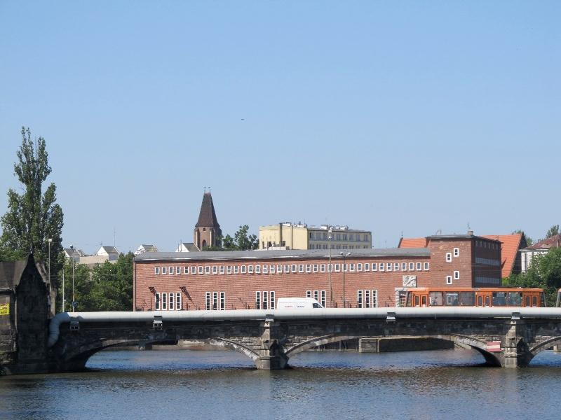 Вроцлав: Померанский мост