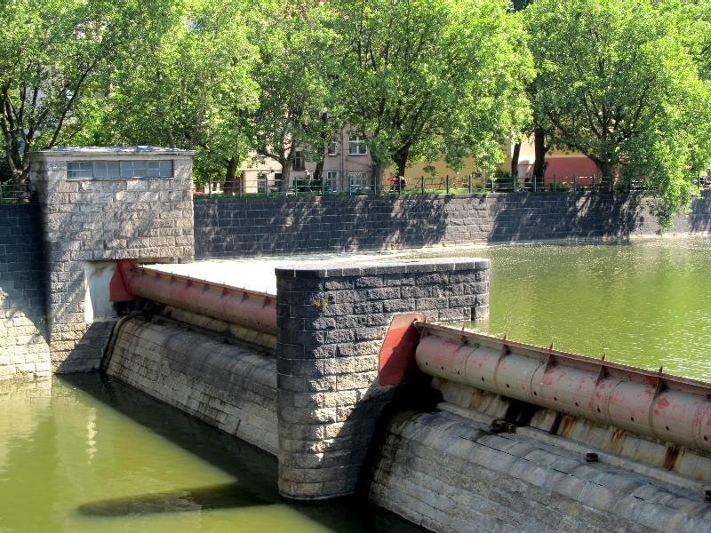 Вроцлав: створ ГЭС-2