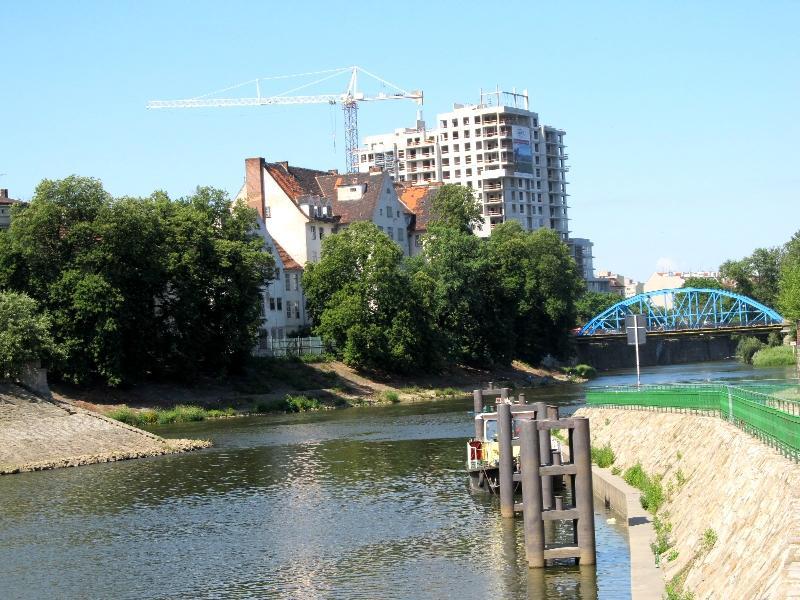Вроцлав: мост Сикорского