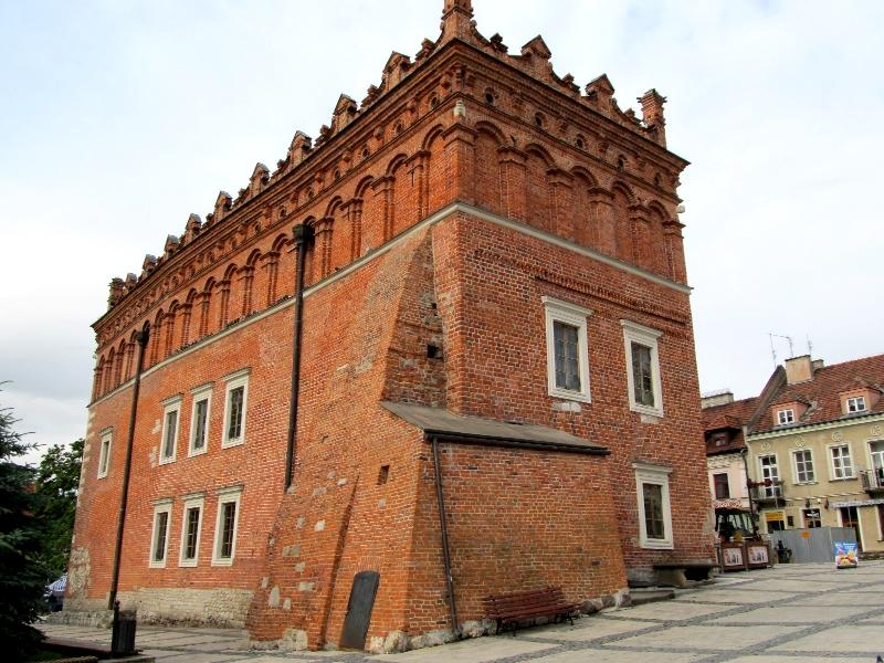 Сандомир: ратуша (восточная сторона)