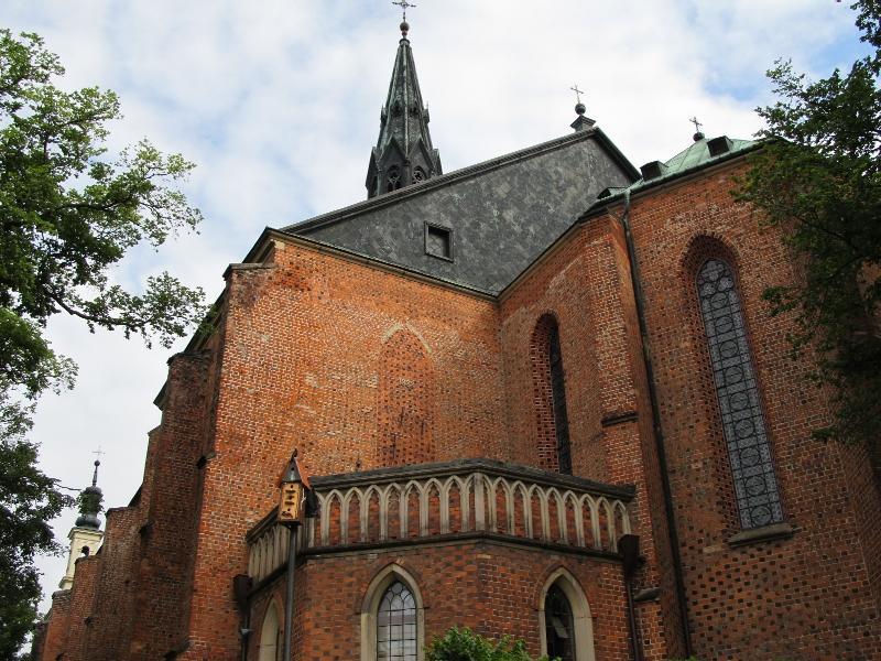 Сандомир: кафедральный собор (алтарная часть)