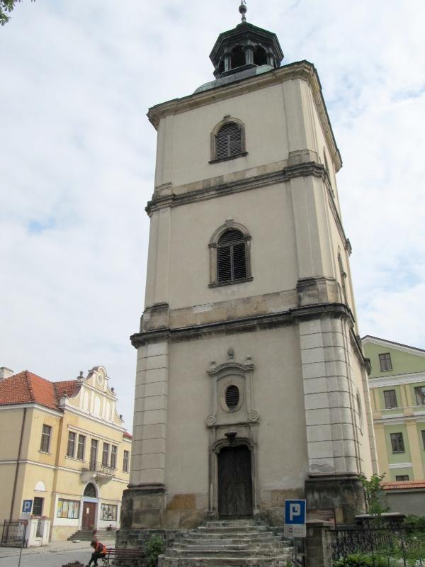 Сандомир: кафедральный собор (колокольня)