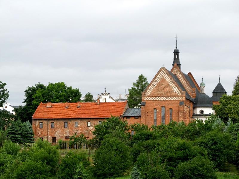 Сандомир: доминиканский монастырь