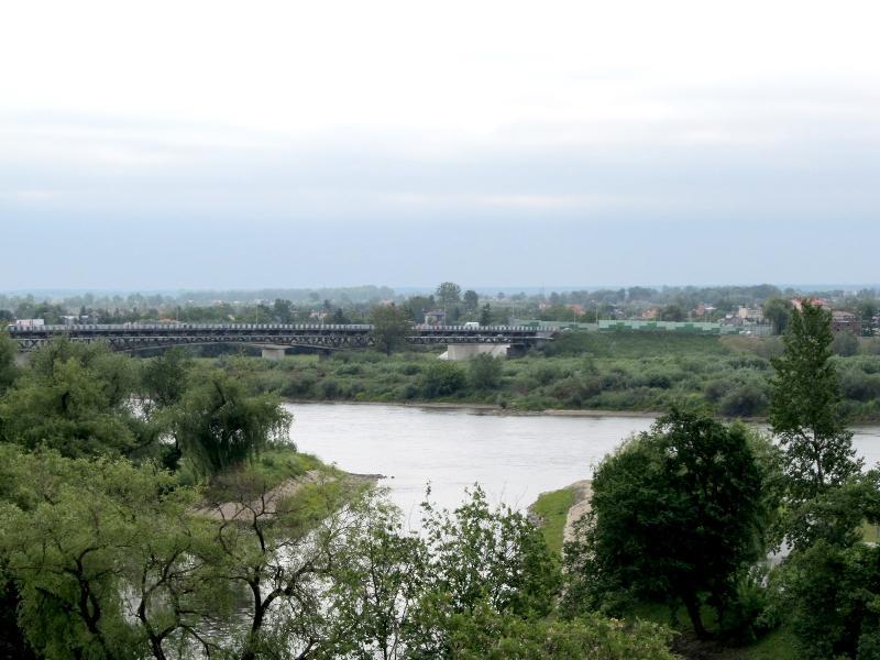 Сандомир: автомобильный мост через Вислу