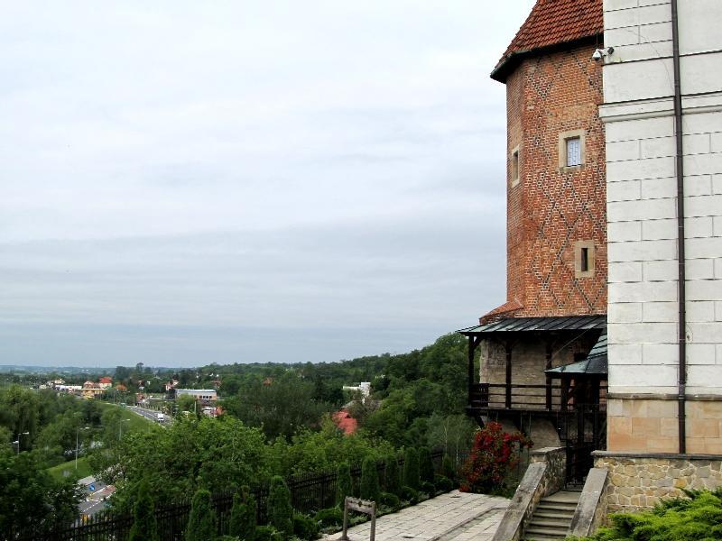 Сандомир: Королевский дворец (угловая башня)