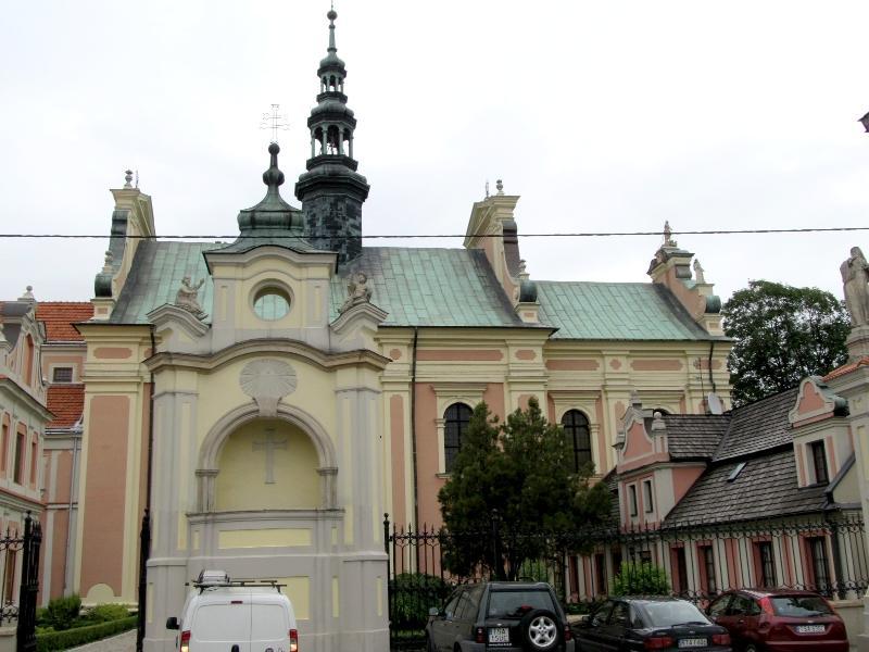 Сандомир: костёл св.Михаила