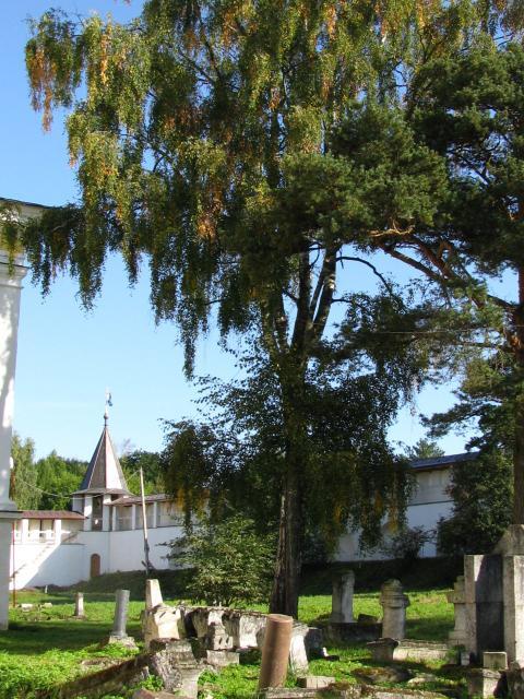 Старица: Свято-Успенский монастырь (кладбище)