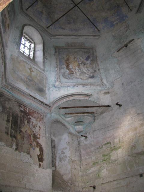 Старица: Рождественская церковь (интерьер)