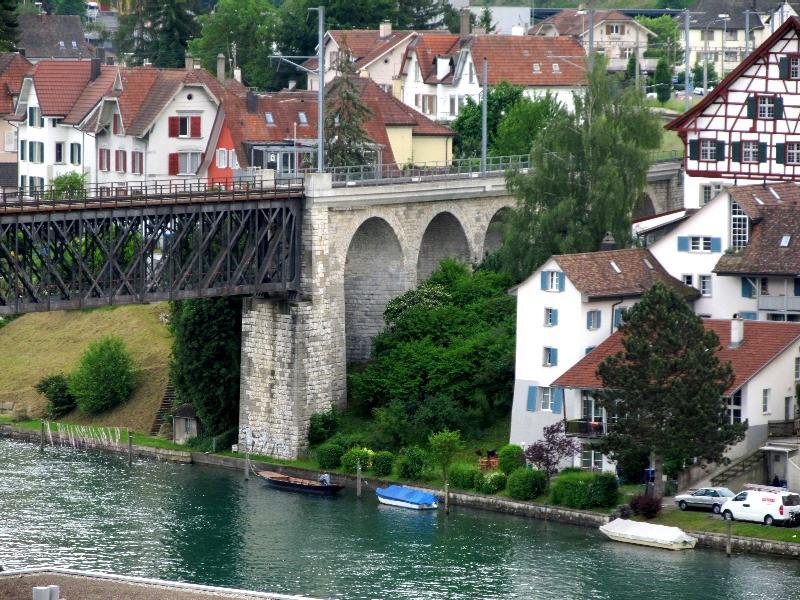 Шаффхаузен: ж.д. мост Фойертален
