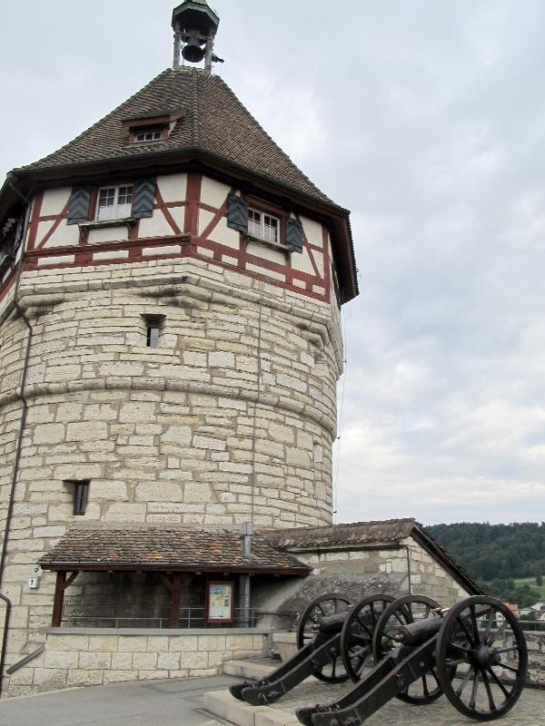 Шаффхаузен: крепость Мунот