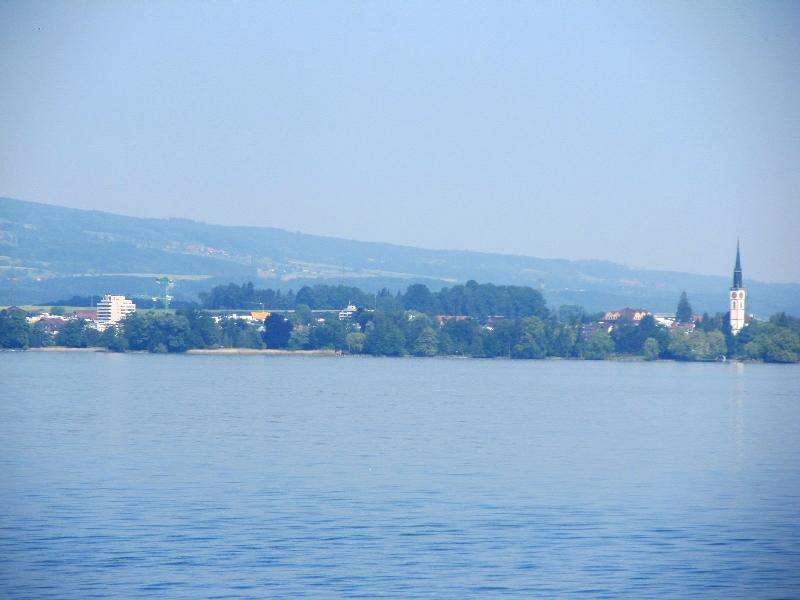 Цугское озеро: церковь св.Иакова