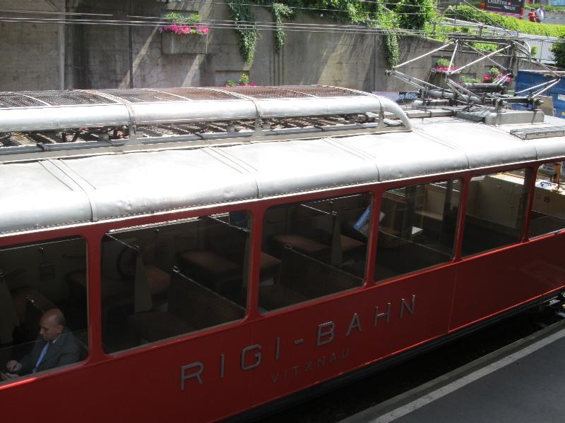 Риги-бан: вагон