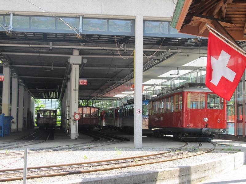 Риги-бан: локомотивное депо