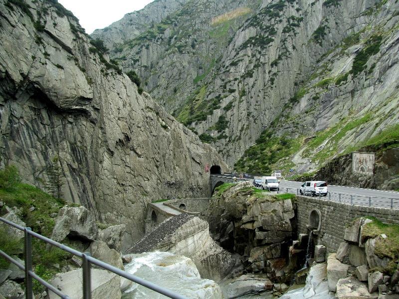 Швейцария: Чёртов мост