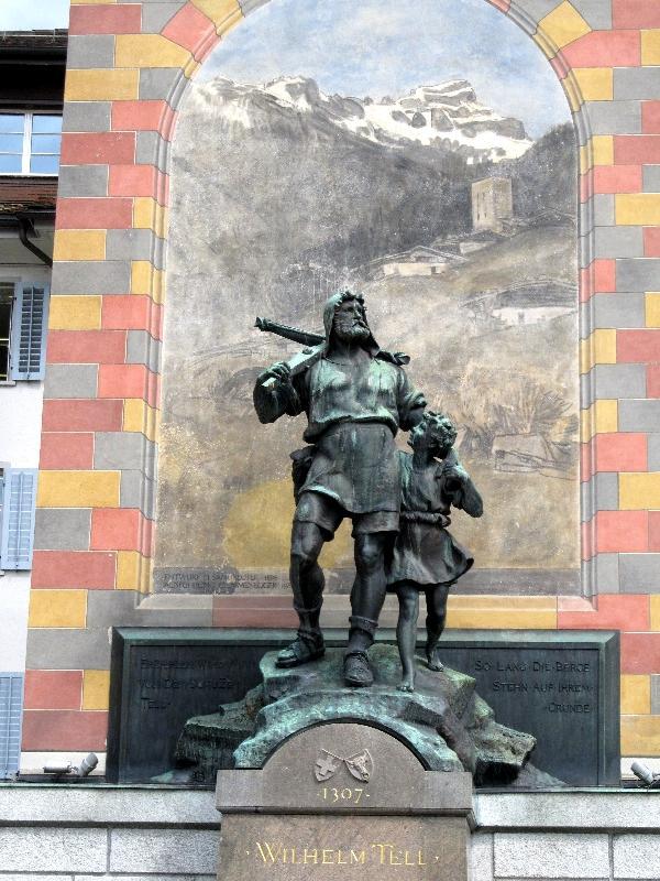 Альтдорф: памятник Вильгельму Теллю
