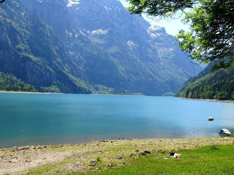 Гларус: озеро Клёнталерзее
