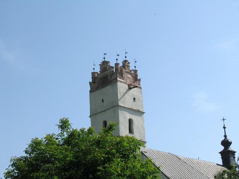 Спишский Хрхов: башня церкви
