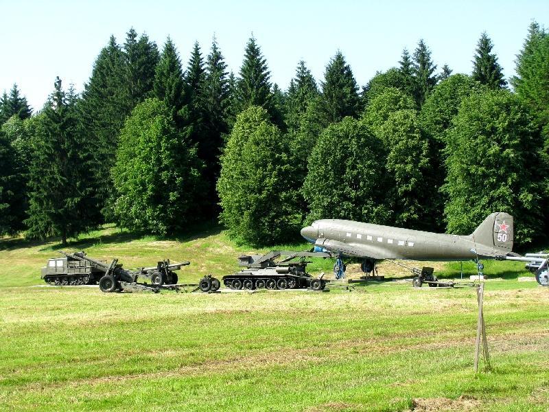 Свидник: музей военной техники