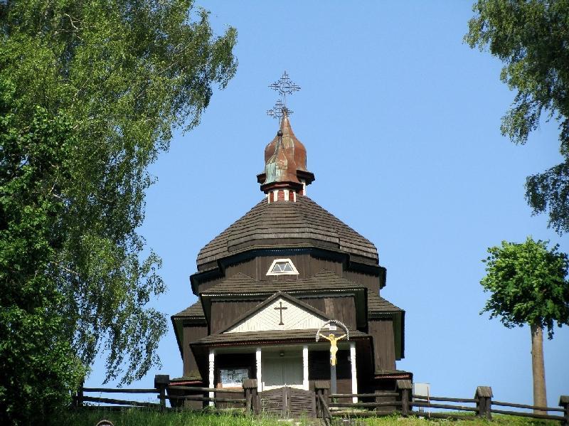 Нижний Комарник: карпатская церковь