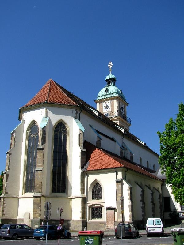 Марибор: собор Иоанна Крестителя