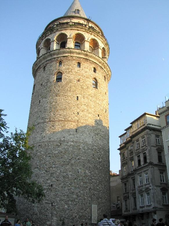 Стамбул: Галатская башня