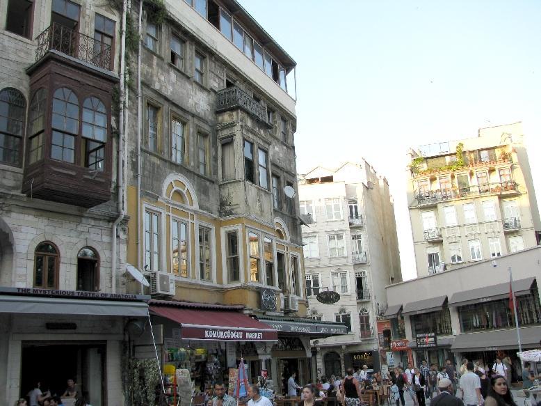 Стамбул: Галатская площадь