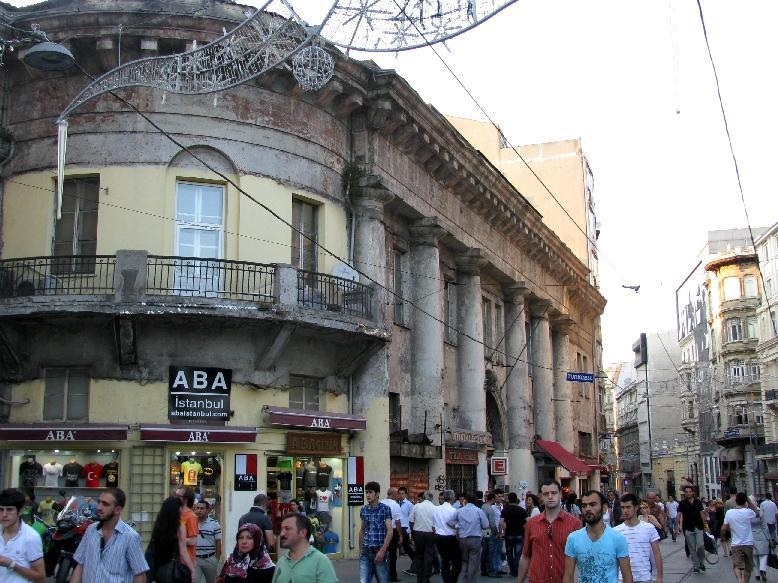 Стамбул: площадь Тюнель