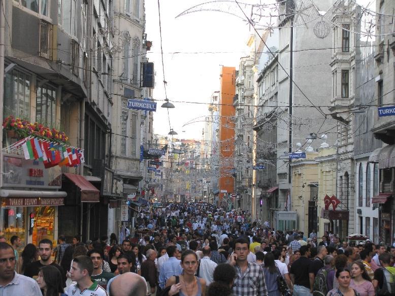 Стамбул: ул. Истикляль