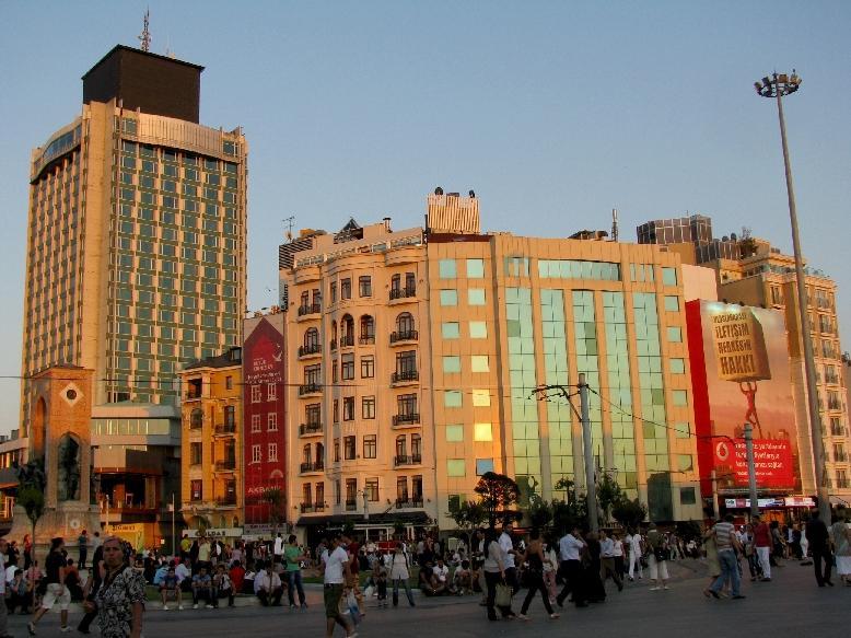 Стамбул: площадь Таксим