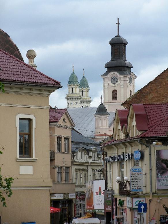 Ужгород: старый город