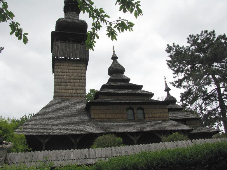 Ужгородский скансен: Карпатская деревянная церковь