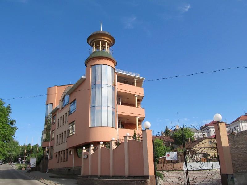 Луцк: гостиница Залески