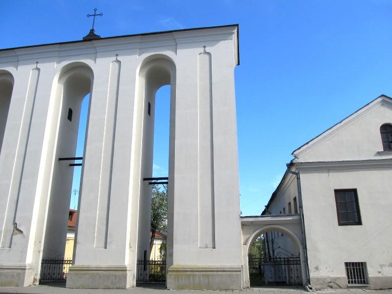 Луцк: колокольня собора Петра и Павла