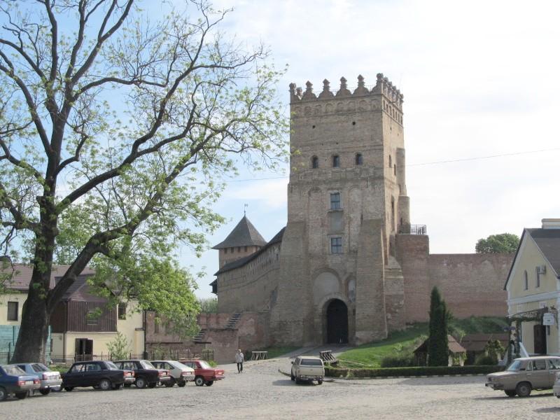 Луцк: Въездная башня