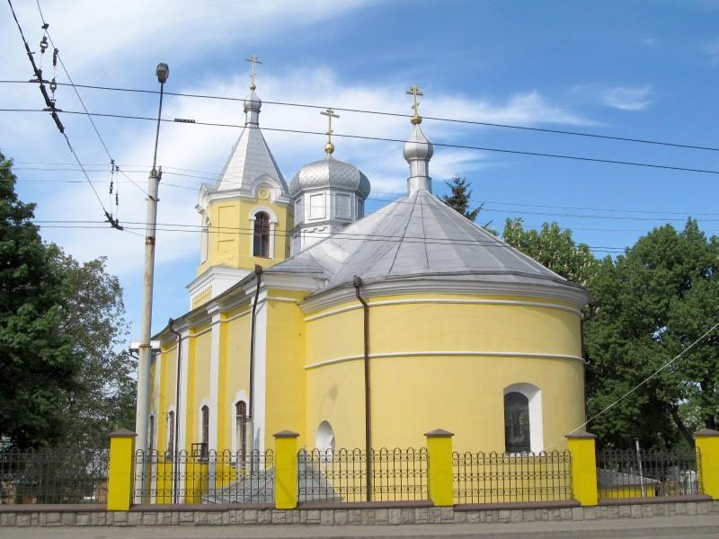 Луцк: Свято-Покровская церковь